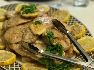Scaloppine di pollo con limone